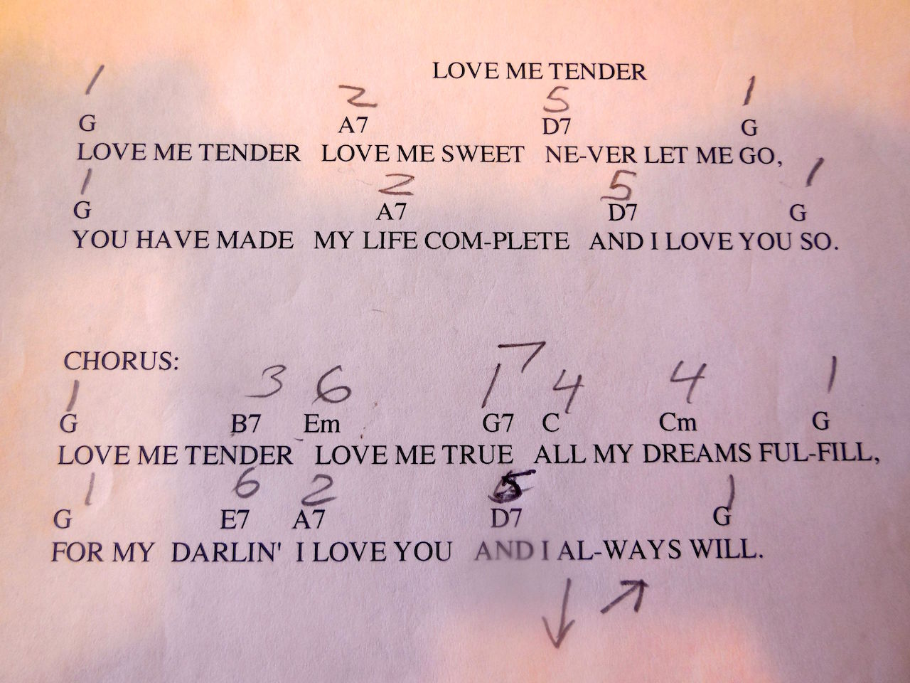 love me tender lyrics